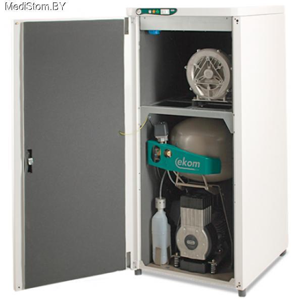 DUO — компрессор с аспирационной системой в звукоизоляционном кожухе