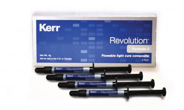 Текучий микрогибридный композитный материал Revolution™ Formula 2 (стартовый набор)