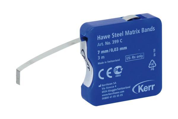 Матричные полоски Hawe™ Steel Matrices (ширина 7 мм)
