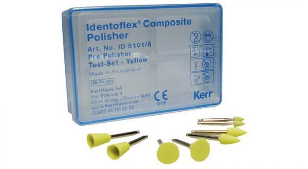 Полиры для предварительной полировки композитов Identoflex™️ Composite Polishers (пробный набор)