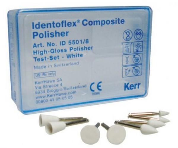 Полиры для полировки до блеска композитов Identoflex™️ Composite Polishers (пробный набор)