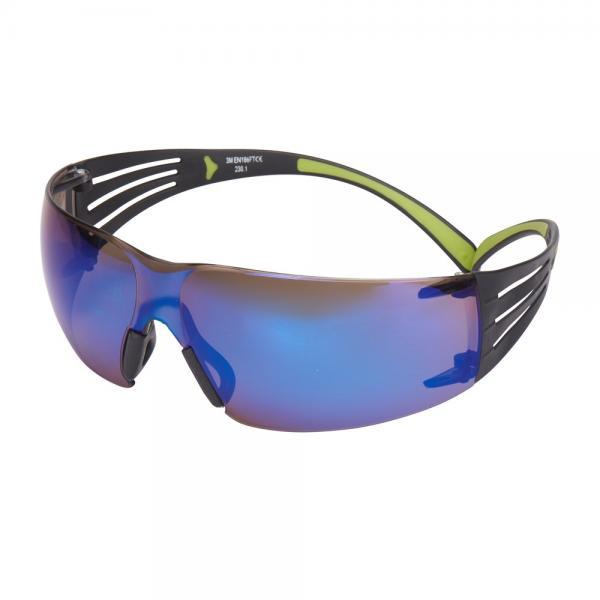 Очки защитные 3М SecureFit™ 408 (с мягкими вставками на дужках и регулируемыми носовыми упорами)