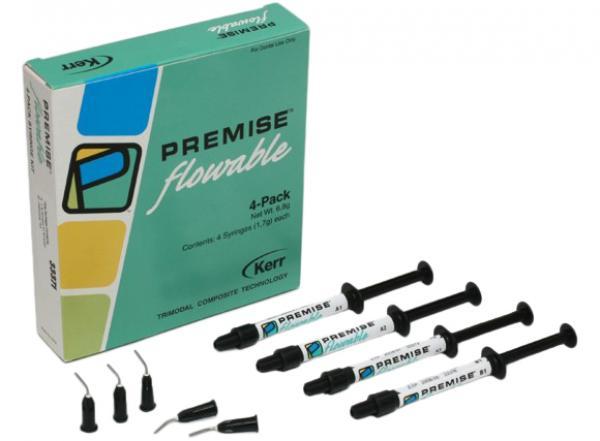 Текучий наногибридный композитный материал Premise™ Flowable (4 шприца, оттенок A2)