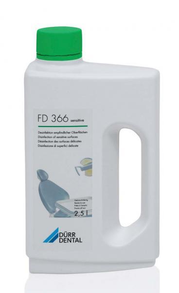 Рабочий раствор для дезинфекции и очистки особо чувствительных поверхностей FD 366 sensitive
