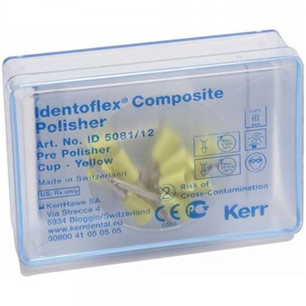 Полиры для предварительной полировки композитов Identoflex™️ Composite Polishers (чашечка)