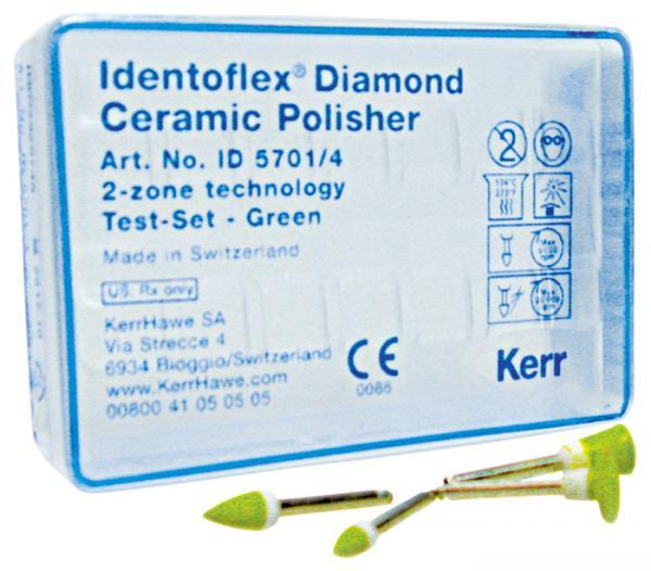 Алмазные полиры с двумя зонами для обработки керамики  Identoflex™️ Diamond Ceramic