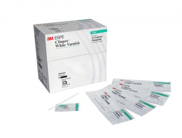 Лак фторсодержащий Clinpro White Varnish (50 упаковок)