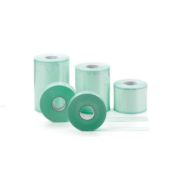 Материал упаковочный для стерилизации:  рулон плоский (длина 200 м; ширина 250 мм)