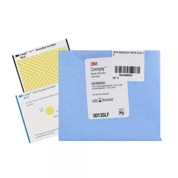 Индикатор химический 3M Comply для контроля паровой стерилизации: тест Боуи-Дика