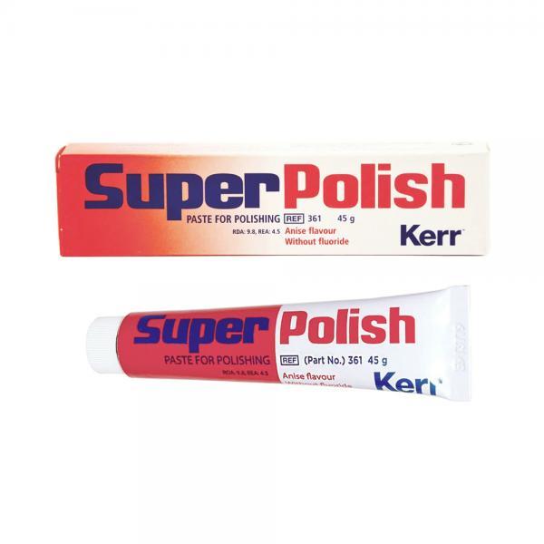Пасты для профессиональной чистки и полировки SuperPolish™ без фтора (45 г)