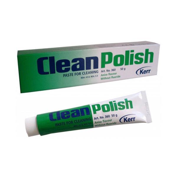 Пасты для профессиональной чистки и полировки CleanPolish™ без фтора (50 г)