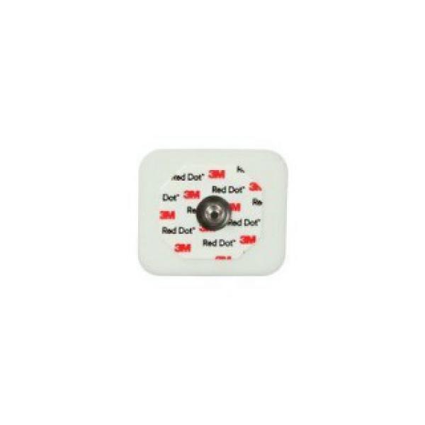 Электроды для ЭКГ 3M Red Dot: электрод одноразовый для мониторирования на губчатой основе и с адгезивным гелем (каталожный номер: 2560)