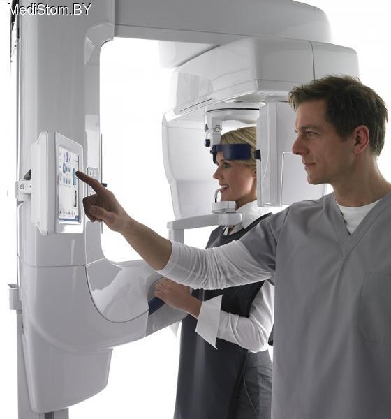 Цифровая панорамная рентгенодиагностическая система с возможностью дооснащения модулем цефалостата и функцией 3D-томографии Gendex GXDP -700 3D