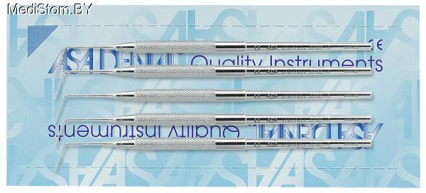 Набор зондов с анатомической ручкой